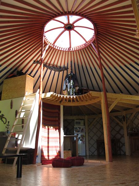 Poteaux-mezzanine