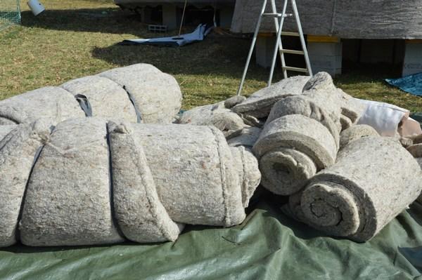 Dôme laine de mouton