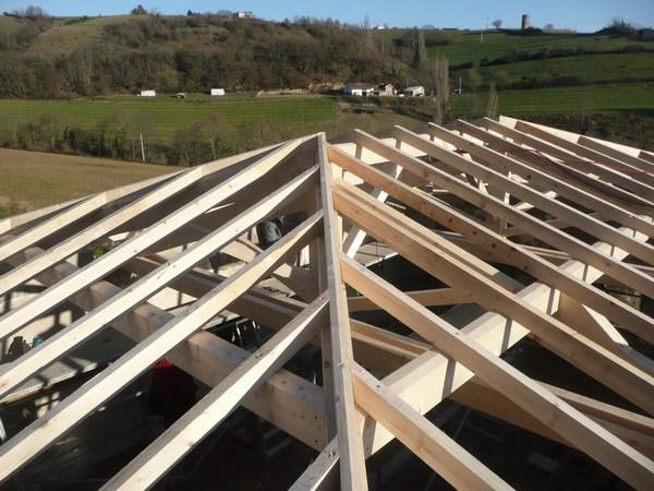 Rénovation charpente construction bois Romans sur Isère